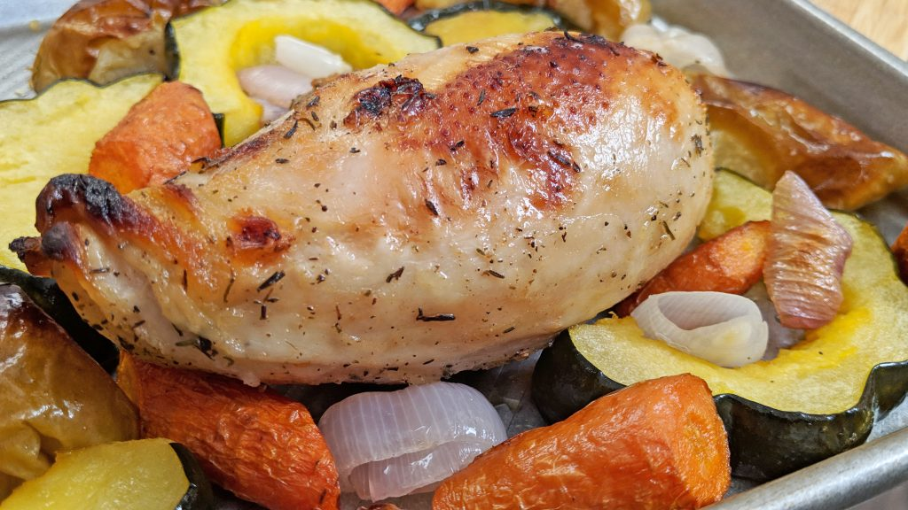 Sheet Pan Chicken - Tiny Kitchen Big Taste