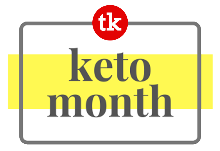 Tiny Kitchen Big Taste Keto Month Logo