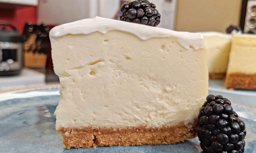 Slice of Cheesecake Instant Pot