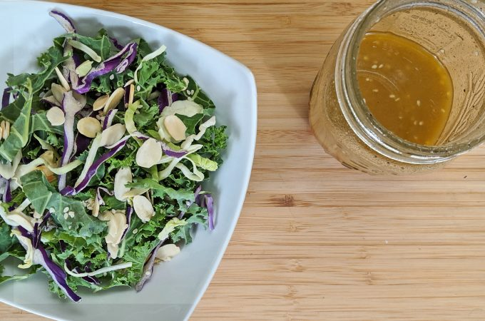Cabbage Salad with Asian Dressing