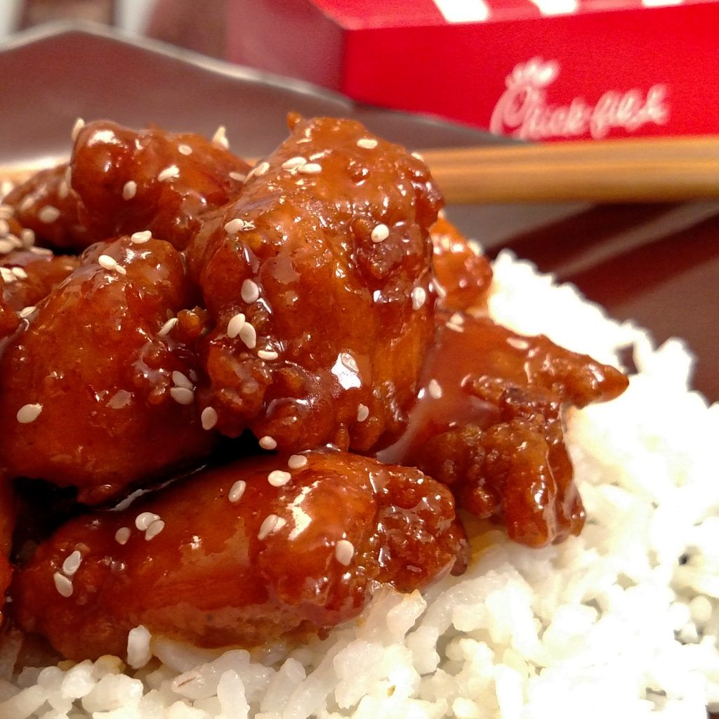 Chick-fil-A Orange Chicken // Tiny Kitchen Big Taste