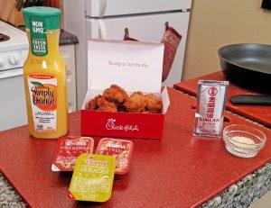Chickfila menu hack ingredients