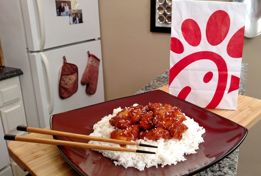 Chick-fil-A Orange Chicken Menu Hack
